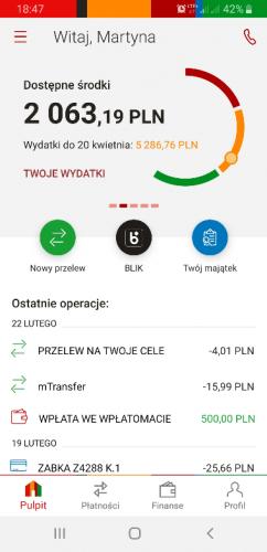 Nowa aplikacja mBank
