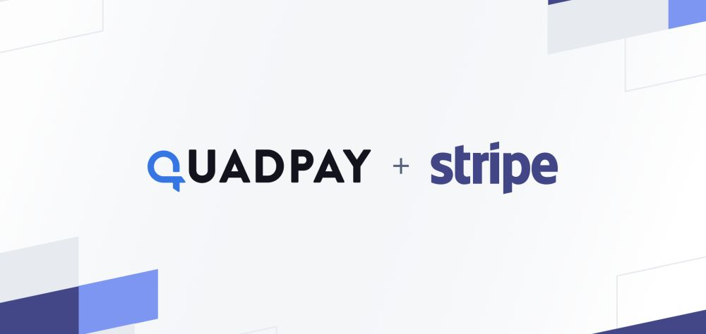 Stripe wspiera sektor odroczonych płatności. Nawiązuje współpracę z fintechem QuadPay. Źródło: Stripe