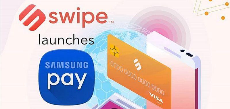Samsung Pay umożliwi płatności kryptowalutami. Źródło: Instagram Swipe