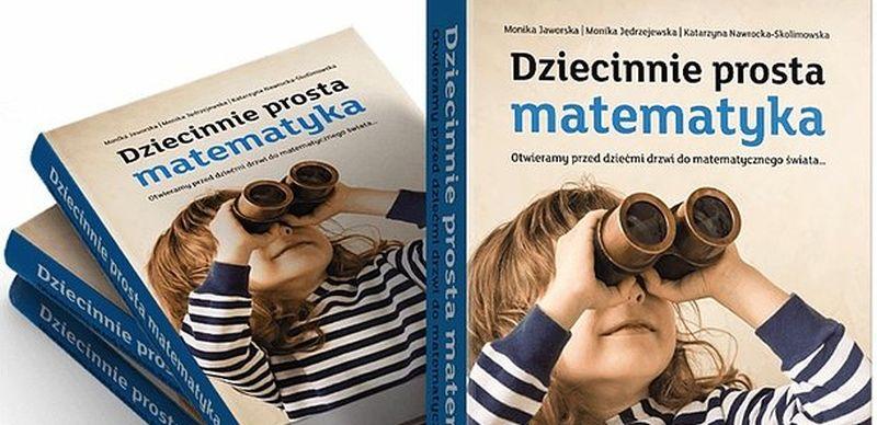 """Nowa książka mFundacji """"Dziecinnie prosta matematyka"""" dostępna w formie e-booka"""