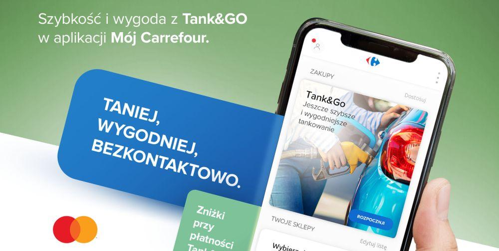 Rusza usługa Tank&Go od Carrefour i Mastercard. Płatności za paliwo bez podchodzenia do kasy