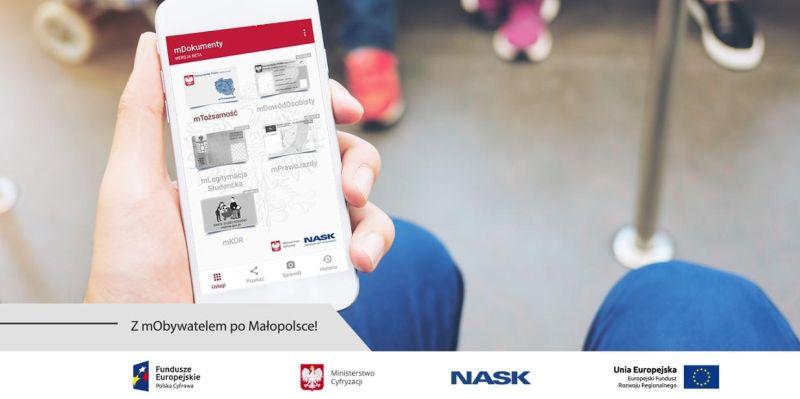 W aplikacji mObywatel zapiszesz bilety. Rozwiązanie rusza w Małopolsce