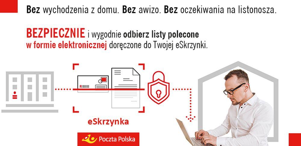 Poczta Polska rozszerza funkcjonowanie eSkrzynki. Można już zgłosić więcej niż jeden adres
