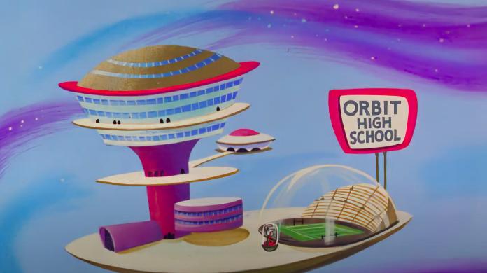Miasto przyszłości wg The Jetsons