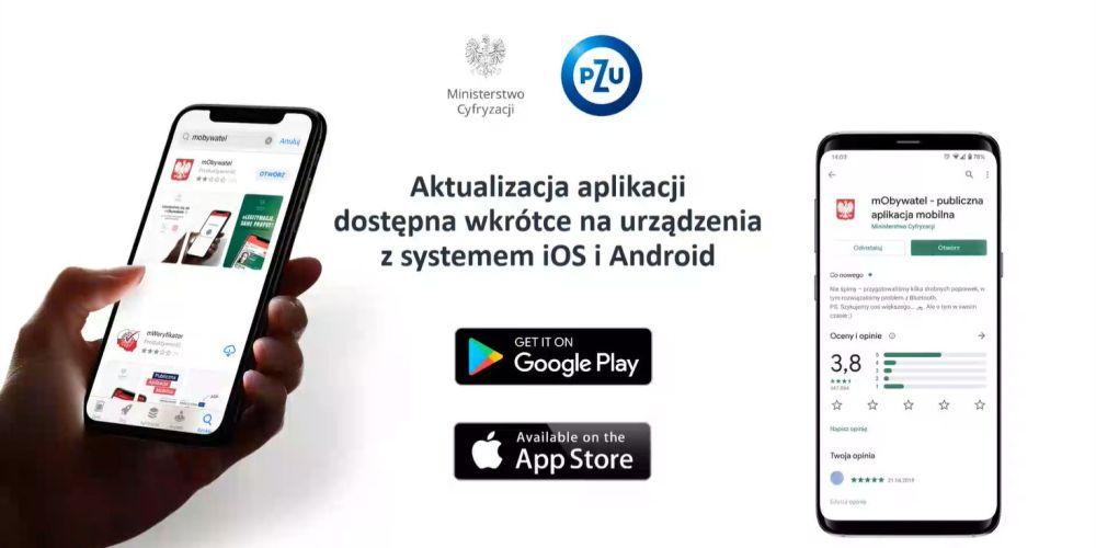 PZU wprowadza nowy sposób potwierdzania tożsamości - za pomocą aplikacji mObywatel