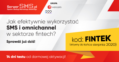 Kod promocyjny SerwerSMS dla czytelników Fintek.pl