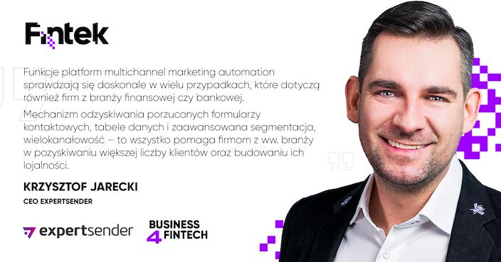 Krzysztof Jarecki, CEO