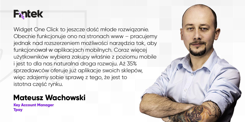 Platnosci jednym kliknieciem. Widget One Click to pierwsze takie wdrozenie w Polsce