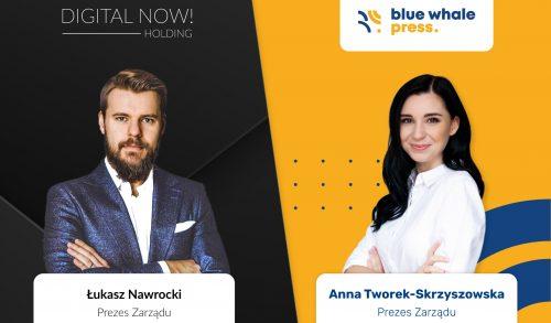Digital Now zainwestowal w Blue Whale Press – nowego gracza na rynku medialnym
