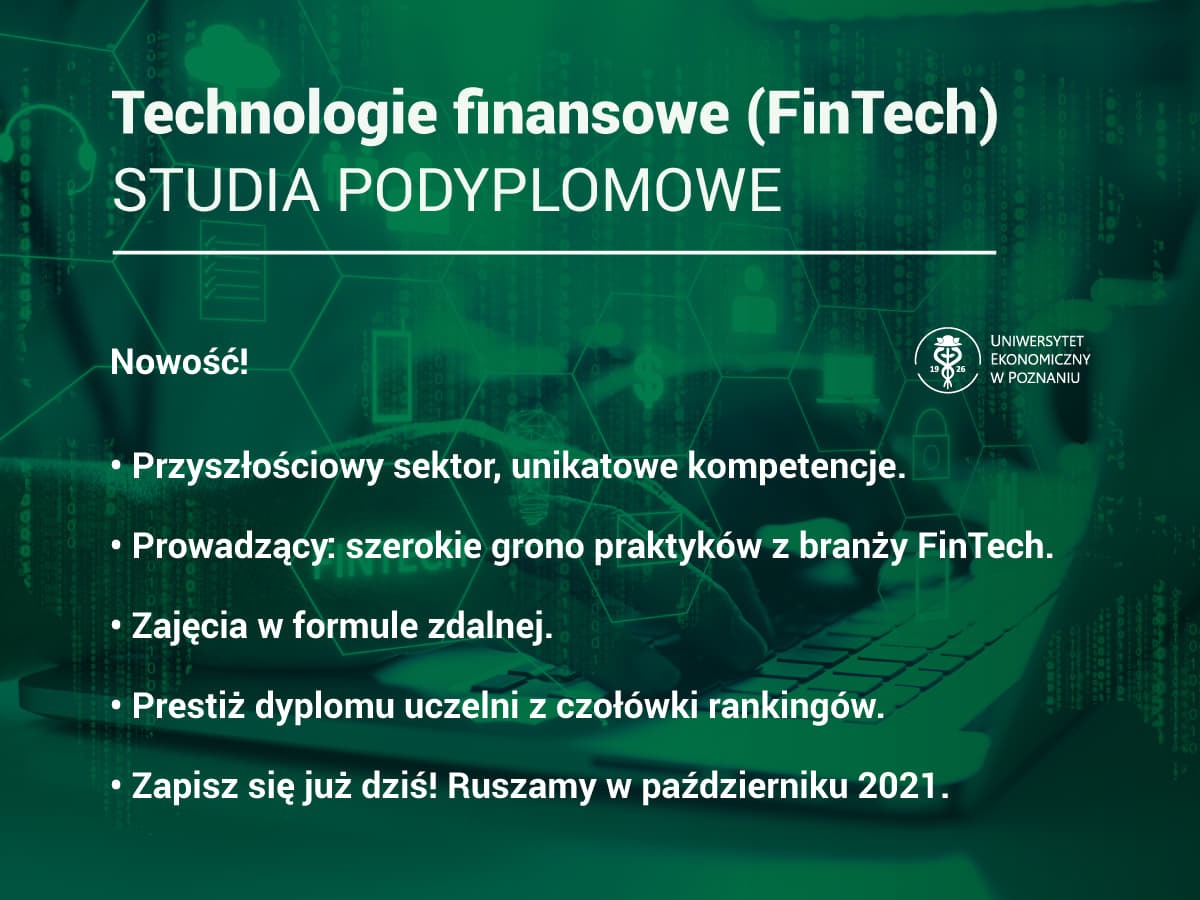 Studia FinTech UEP